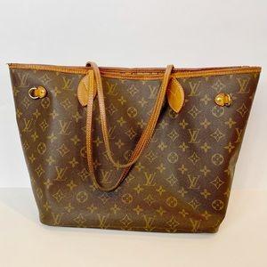 Authentic Louis Vuitton Monogram Neverfull MM